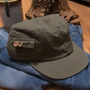 Olive Green Military Newscap